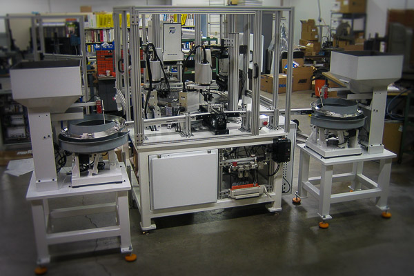 Custom Robot Systems Using Six Axis Scara And Tabletop